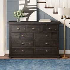 Amityville Armoire & Reviews | Joss & Main Double Dresser, Dresser With Mirror, Adjustable Beds, Adjustable Shelving, Small Space Storage, Storage Spaces, Wardrobe Storage Cabinet, Pine Wardrobe, Light Colored Wood