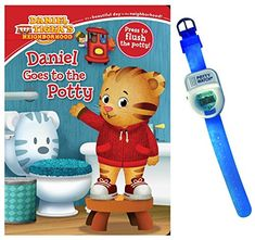 Daniel Goes to the Potty Book by Maggie Testa with Potty Watch Simon & Schuster