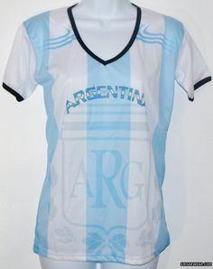ARGENTINA WOMEN SOCCER JERSEY