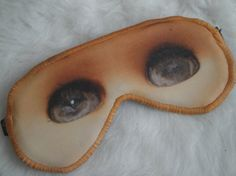 Freak Them Out Sleep Mask CHEESE A DOLL  by FreakyOldWoman on Etsy