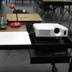 A LadyBug Projector and Camera, used for displaying student's work in the big screen.  Meets Teaching Standard Element III.4.b. Teachers incorporate instructional approaches and technologies to provide students with opportunities to demonstrate mastery of learning outcomes.