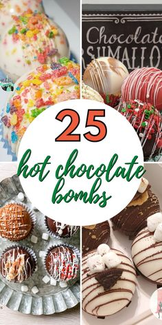 Over 37+ Hot Chocolate Cocoa Bomb Flavors to Make. Apple Cider, Peppermint, Peanut Butter, Coffee, and more cocoa bomb flavors. Hot Chocolate Gifts, Christmas Hot Chocolate, Homemade Hot Chocolate, Chocolate Bomb, Hot Chocolate Bars, Hot Chocolate Recipes, Christmas Sweets, Christmas Cooking, Christmas Goodies
