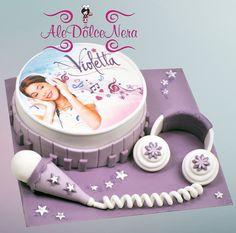 #Violetta Cupcakes, Cupcake Cakes, Violetta Torte, 10th Birthday Parties, Birthday Cake, Girly Cakes, Ideas Para Fiestas, Cakes And More, Party Time