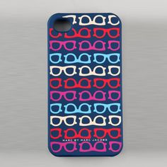 Marc by Marc Jacobs Glasses Print Hard Case for iPhone 4/4S