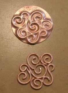 De Kelsi Closet Jewelbox Design Journal: Tiempo Tool Martes - Textura Acero Dies para la prensa hidráulica