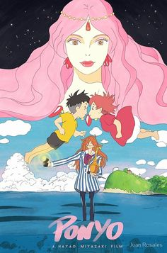 From the legendary Studio Ghibli, creators of Spirited Away and My Neighbor Totoro, and Academy Award-winning director Hayao Miyazaki, comes a heartwarming adventure. Studio Ghibli Poster, Studio Ghibli Art, Studio Ghibli Movies, Film Anime, Art Anime, Collage Mural, Poster Anime, Japon Illustration, Manga Covers