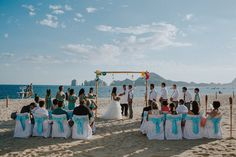 Destination Wedding at Riu Palace Cabo San Lucas Mexico by Tomasz Wagner - Mananetwork Photography - Full Post: http://www.brideswithoutborders.com/inspiration/relaxed-beach-wedding-in-cabo-san-lucas-by-tomasz-wagner