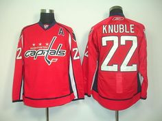 Washington Capitals 22 Mike KNUBLE Home Jersey