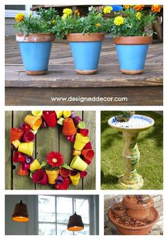 One Item Wednesday- Clay Pots | Designed Decor