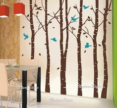 birch trees wall stickers http://www.etsy.com/listing/87267332/6-birch-tree-with-flying-birds-and-vinyl?ref=sr_gallery_29&sref=&ga_search_submit=&ga_search_query=wall+decor+tree+birch&ga_view_type=gallery&ga_ship_to=US&ga_search_type=handmade&ga_facet=handmade