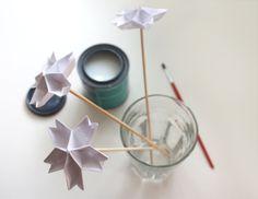 Using polycrylic coating on origami   How About Orange