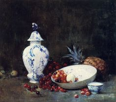 Emil Carlsen China and Cherries c.1908