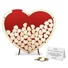 Hochzeit Gästebuch Alternative - Herz aus Holz in Rot jetzt auf Kartenmachen.de ansehen!#Rot #Hochzeit #Gästebuch #Hochzeitsgästebuch #Alternative #Außergewöhnlich #Holz #Holzhochzeit #kreativ #Hochzeitsdeko #Dekoration