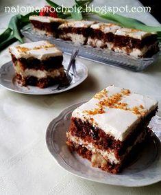 Na To Mam Ochotę: Ciasto Marchewkowe z Kremem Serkowym Tiramisu, Sweet Tooth, Cooking Recipes, Baking, Cake, Ethnic Recipes, Food, Chef Recipes, Bakken