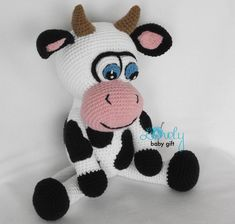 Lovely Cow amigurumi pattern by Lovely Baby Gift