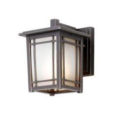 Hampton Bay Port Oxford Wall-Mount 1-Light Outdoor Oil Rubbed Chestnut Lantern  Model # 23011 Internet # 202518357 Store SKU # 103256  $39.97 /EA-Each