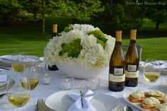 Fun and Fabulous White Nights Ladies Only Dinner Party - Tips, How To Table and Recipes for hosting  #spon #YouKnowJLohr