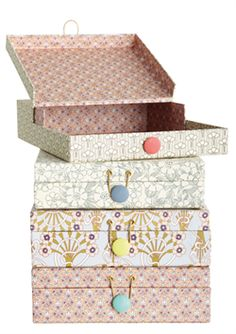 papers boxes - House Doctor