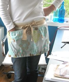 Peg bag apron