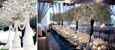 paniculata para decoración de boda