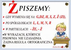 Aa School, Back To School, Learn Polish, Poland History, Polish Language, Girls World, Teaching English, Learning Activities, Motto