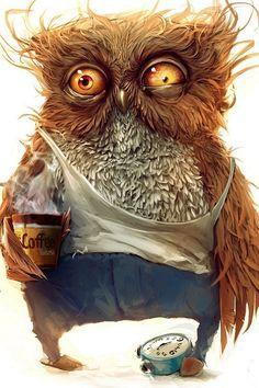 funny owl wallpaper #iPhone #4s #wallpaper