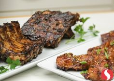It's okay to get a little messy with these Korean BBQ Glazed Country Ribs! Serve them over jasmine rice for a complete meal! Country Ribs, Korean Bbq, 30 Minute Meals, Game Day Food, Dessert For Dinner, Jasmine Rice, Main Meals, Soups And Stews, Finger Foods