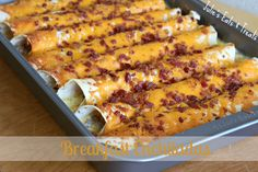 Breakfast Enchiladas on MyRecipeMagic.com