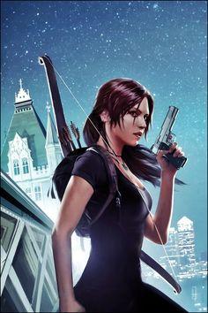 Tomb Raider - Lara Croft by Brian Horton #tombraider #laracroft #croft #lara #tomb #raider #london #redbus #fanart #riseofthetombraider #tombraiderreborn #tombraider #livingtombraider #tomb #raider #lara #croft #juegos #videojugos #videoconsolas #pc #xbox #ps #paltaformas #aventura #survived #supervivencia #mujeres #guerreras #gaming #videogames #game #adventure #ladycroft #lady #adventure #