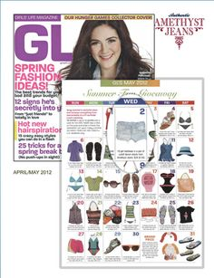 our jeans featured in Girls Life magazine!