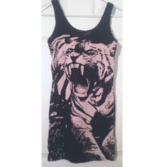 Long Tiger Tank Long Tiger Tank. I believe this is from H&M. Tops Tank Tops