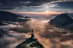 Fotógrafo Max Rive captura a beleza das montanhas európeias