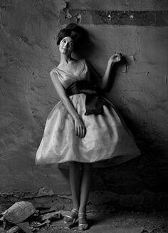 Modelo Simone D´AIllencourt , fotografo Melvin  Sokolsky