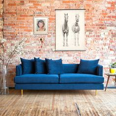 The Margot Sofa epitomizes modern elegance with graceful arms, French-seam detailing, and loose, luxurious cushions that give a look that is both timeless and contemporary. Every sofa includes two sets of cylindrical steel legs, allowing you to ch...