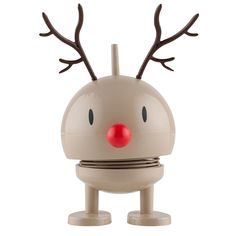 Hoptimist Baby Bumble Rudolf brun - Hoptimist