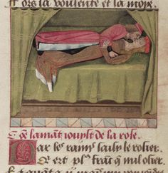 Bodleian Library MS. Douce 195 Guillaume de Lorris and Jean de Meung, Le Roman de la Rose, in a manuscript made for Louise of Savoy, mother of Francis I, with many miniatures in the style of Robinet Testard, French, late 15th century