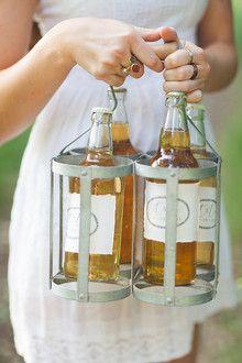 Cider bottle label