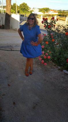 Mary's Big Closet: Denim Dress