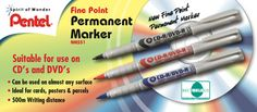 Pentel Fine Point Permanent Marker