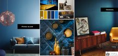Okergeel + Petrol blauw. #occer #blue #geel #blauw #petrol #home #decoration #interioir #vintage #stylingconcept