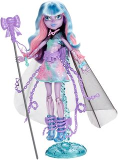 Amazon.com: Monster High Haunted Student Spirits River Styxx Doll: Toys & Games  -  $13.47 Prime