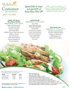 Awesome July 2012 Customer Promotion! Contact me to book your tasting party!!