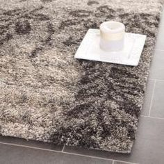 Ultimate Smoke/ Dark Brown Shag Rug (3'3 x 5'3) @Overstock - This power-loomed shag rug offers luxurious comfort and unique styling with a raised high-low pile. High-density polypropylene pile features a smoke background with dark brown accents and provides one of the most plush feels available in a rug.http://www.overstock.com/Home-Garden/Ultimate-Smoke-Dark-Brown-Shag-Rug-33-x-53/6372250/product.html?CID=214117 $52.19