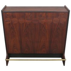 Danish Mid-Century Modern Rosewood Bar by Johannes Andersen | From a unique collection of antique and modern dry bars at https://www.1stdibs.com/furniture/storage-case-pieces/dry-bars/