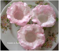 Forminhas para doces finos de papel, cores a combinar R$ 0,60