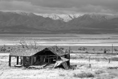 Abandoned House with a View Tooele County Utah  #abandoned #house #tooele #county #utah #photography