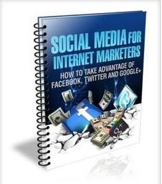 "★★★★☆Social Media for Internet Marketers— $2.99 Social Marketing book ""Social Media For Internet Marketers"" includes information on The main benefits of using social media in your online busine…"