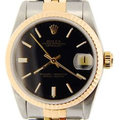 Midsize Rolex Ladies 2tone 18K Yellow Gold/Stainless Steel Datejust Review