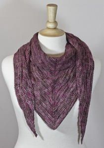 One Skein No Purl Scarf