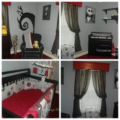 Nightmare Before Christmas children's Bedroom
